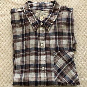 Current / Elliot plaid shirt